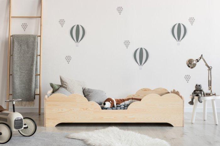 BOX 10 80x140cm Łóżko drewniane dziecięce