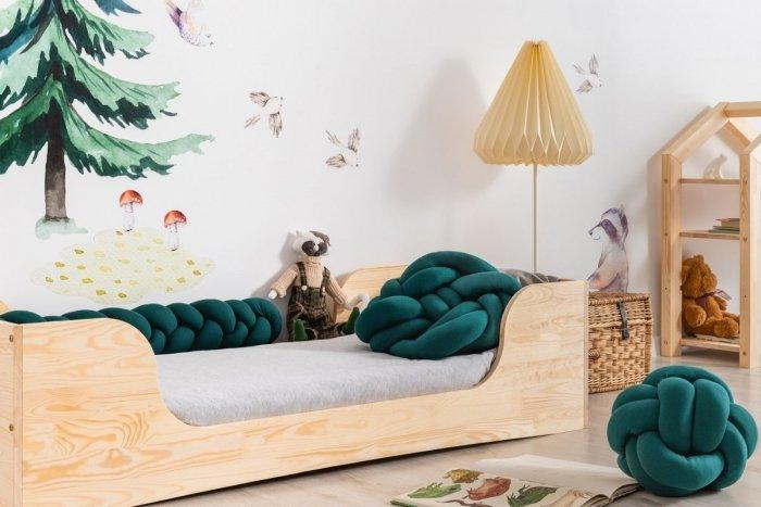 PEPE 6 90x150cm Łóżko drewniane dziecięce