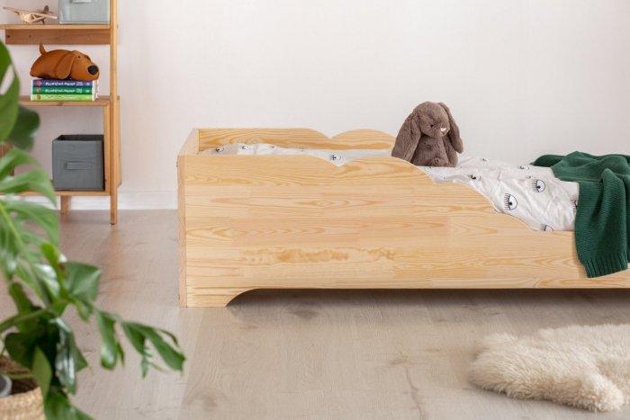 BOX 11 80x190cm Łóżko drewniane dziecięce