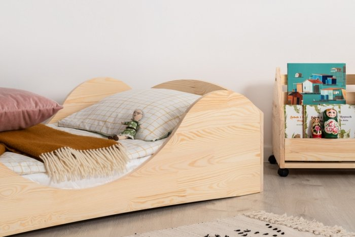 PEPE 1 60x120cm Łóżko drewniane dziecięce