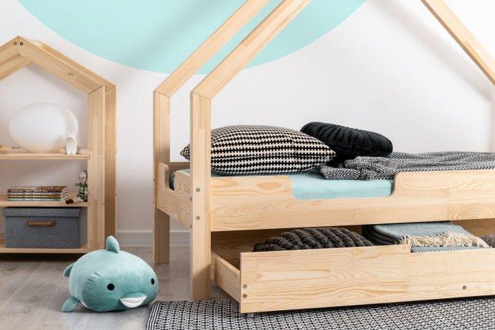 Loca C 90x160cm Łóżko dziecięce drewniane ADEKO