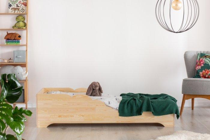 BOX 11 90x200cm Łóżko drewniane dziecięce