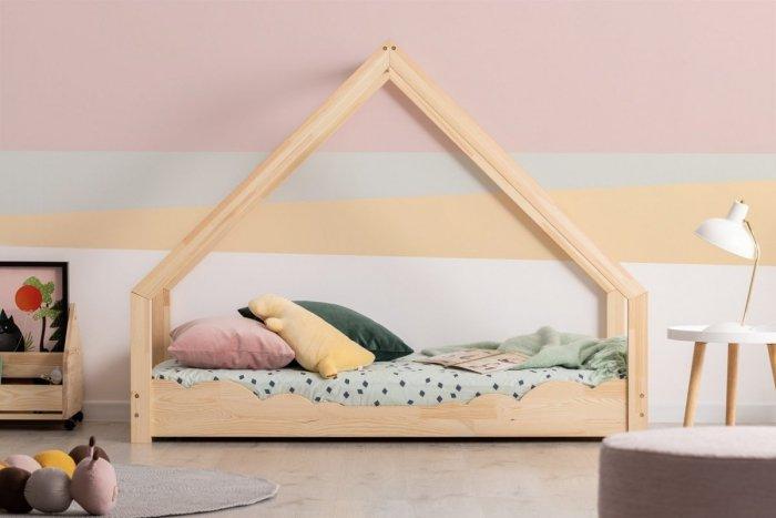 Loca D 90x190cm Łóżko dziecięce drewniane ADEKO
