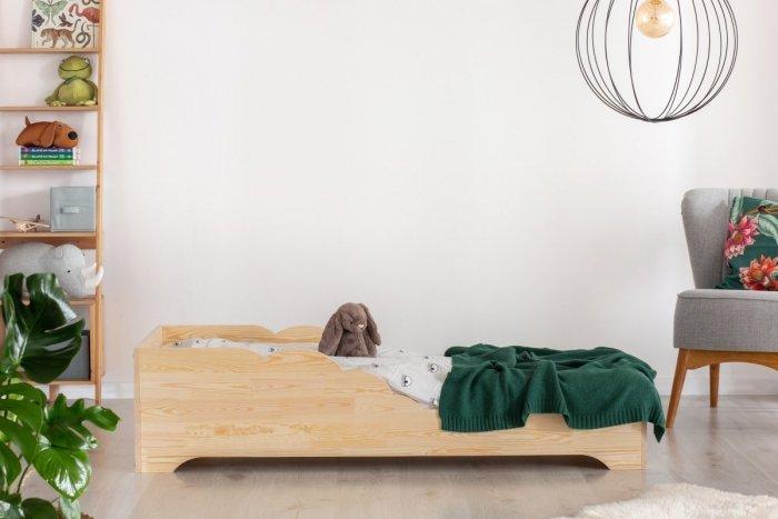 BOX 11 90x140cm Łóżko drewniane dziecięce