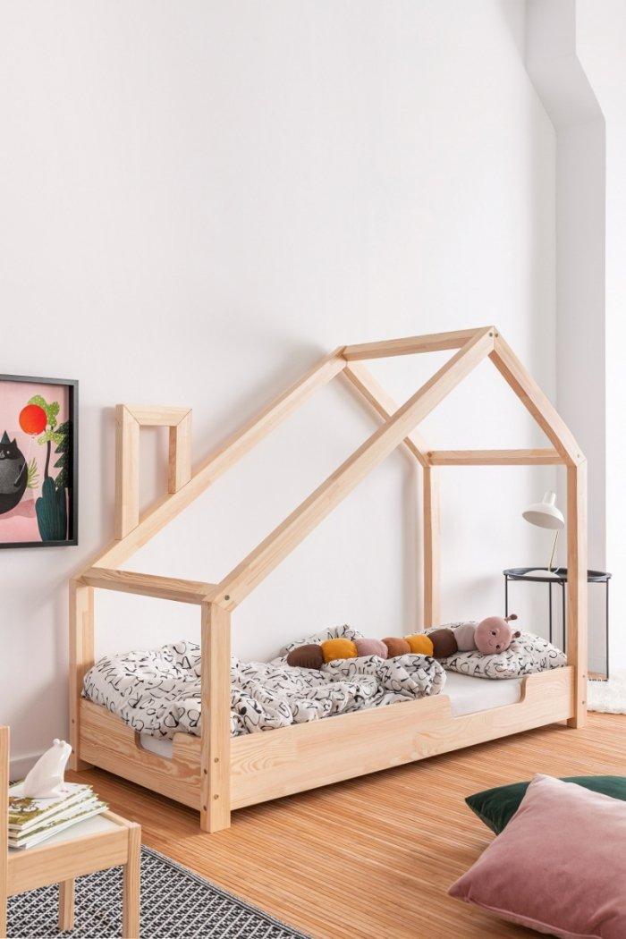 Luna C 70x140cm Łóżko dziecięce domek ADEKO