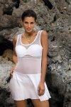 Marko Tunika plażowa Ines M-387 Bianco