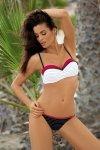 Kostium kąpielowy Marko Dolores Nero-Venere M-307 biało-czarno-czerwony (173)