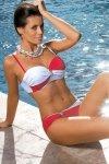 Kostium kąpielowy Marko Liliana Rosso Passione-Bianco M-259 Czerwono-biały (24)