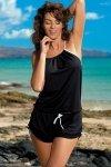 Tunika plażowa Marko Leila Nero M-312 czarna (293)