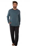 Key MNS 351 B21 piżama męska plus size
