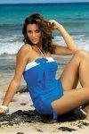 Tunika plażowa Marko Mia Surf M-241 Niebieska (205)