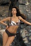 Kostium kąpielowy Marko Daphne Deep Brown M-318 brązowy (127)