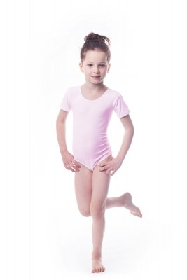 Shepa Body gimnastyczne lycra (B15) krótki rękaw