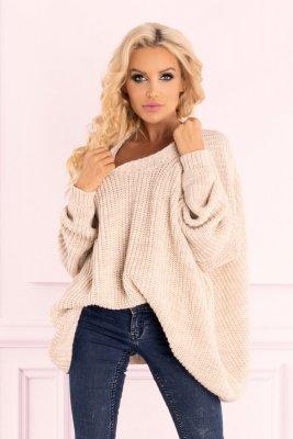 Merribel Amardanis Beige sweter damski