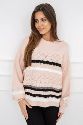 Vittoria Ventini Caroline Soft Pink G2538 sweter damski