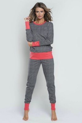 Italian Fashion Oslo dł.r. dł.sp. piżama damska