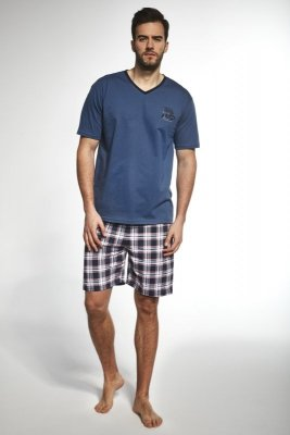 Cornette 326/81 sailing ship jeans piżama męska