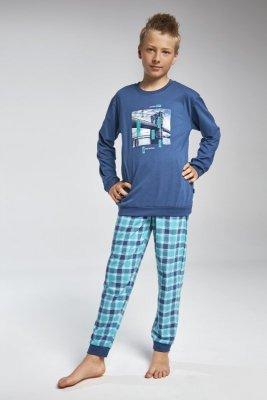 Cornette 966/81 Bridge jeans piżama chłopięca