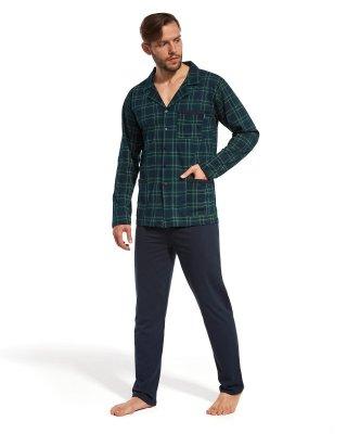 Cornette 114  Rozpinana piżama męska