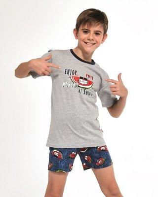 Cornette Young Boy 790/83 Watermelon 134-164 piżama chłopięca