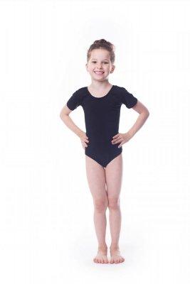 Shepa Body gimnastyczne lycra (B1) krótki rękaw