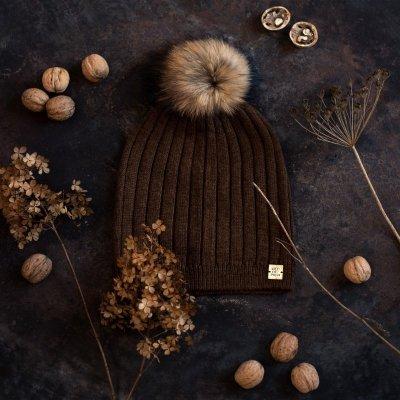 Art of Polo Expression Brązowa czapka