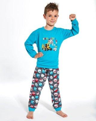 Cornette Kids Boy 593/106 Caps 86-128 piżama chłopięca