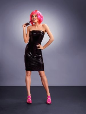 Me Seduce Xenia black Sukienka