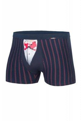Cornette Świąteczne 007/44 Funny Bow Tie bokserki męskie