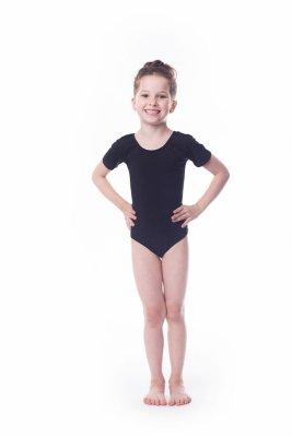Shepa Body gimnastyczne bawełna (B1) krótki rękaw