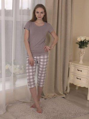 Roksana Memory 577 Mokka piżama damska