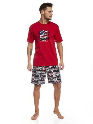 Cornette America 326/47 piżama męska