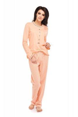 Betina Penelope 158 Łososiowa dł. rękaw piżama damska