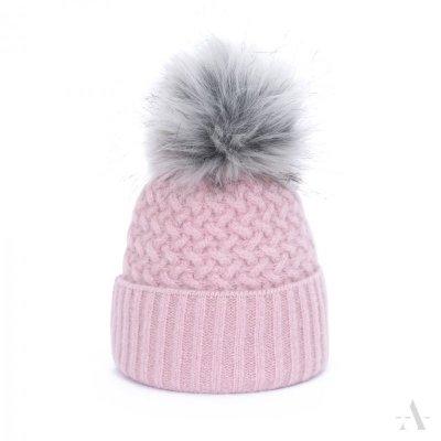 art of polo Chic Różowa czapka
