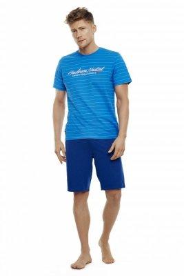 Henderson Tour 35714-55X Niebiesko-granatowa piżama męska