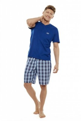 Henderson Trip 35711-59X Granatowo-niebieska piżama męska