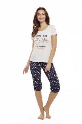 Henderson Danni 35832-03X Różowo-granatowa piżama damska