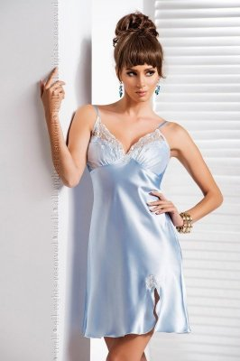 Irall Daphne Błękitna koszula nocna