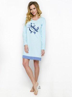 Taro Viva 1030 AW/18 K02 Błękitna koszula nocna