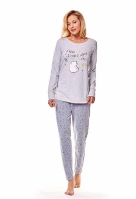 Henderson Mimi 36160-09X Szara piżama damska