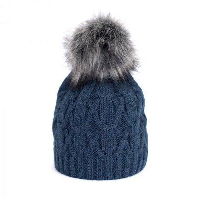 Art of Polo Królowa zimy Granatowa czapka