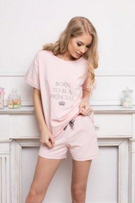 Aruelle Princess Short Pink piżama damska