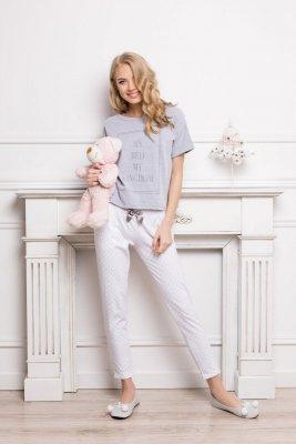 Aruelle Kingdom Long Dots & Grey piżama damska