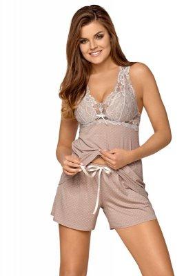 Babella Joanna Cappucino piżama damska