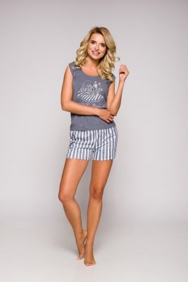 Taro Eva 2157 SS/19 K02 Grafitowa piżama damska