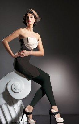 Fiore Anette Black legginsy