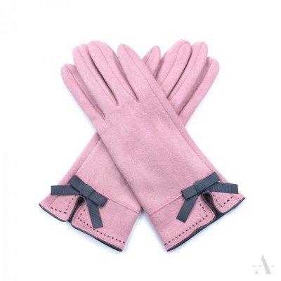Art of Polo St. Louis Różowe rękawiczki