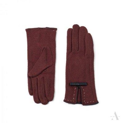 Art of Polo Bordeaux Rude rękawiczki