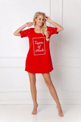 Aruelle Hearty Red koszula nocna