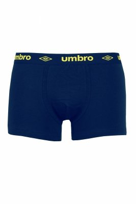 Umbro Sign navy-yellow Bokserki męskie